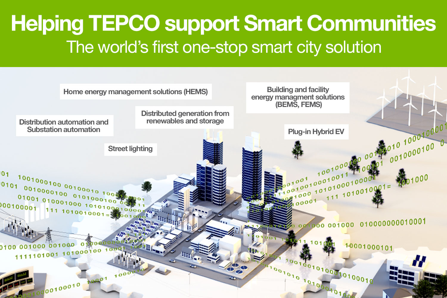 TEPCO and Landis+Gyr's Gridstream® enable Tokyo to build a true smart city
